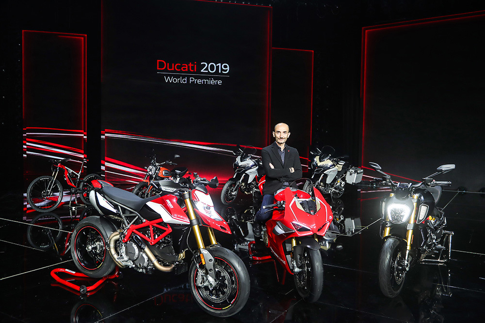 Ducati Presents New Motorcycles For Eicma 2018 Nepal Drives