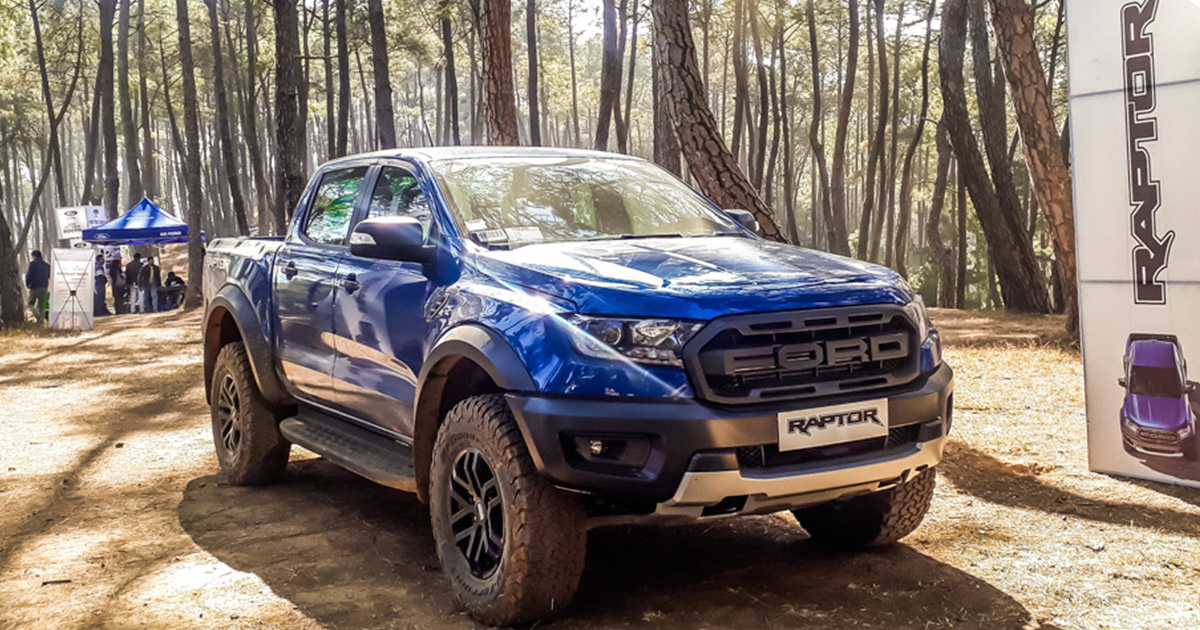 Exclusive Thrilling Ford Ranger Raptor Debuts In Nepal