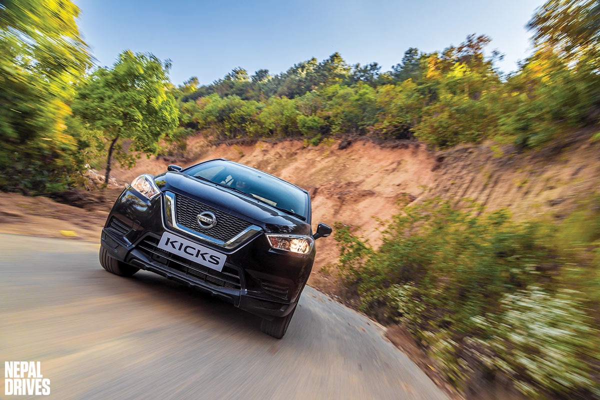 Nissan Kicks: First Innings| Test Drive, Review - Nepal Drives