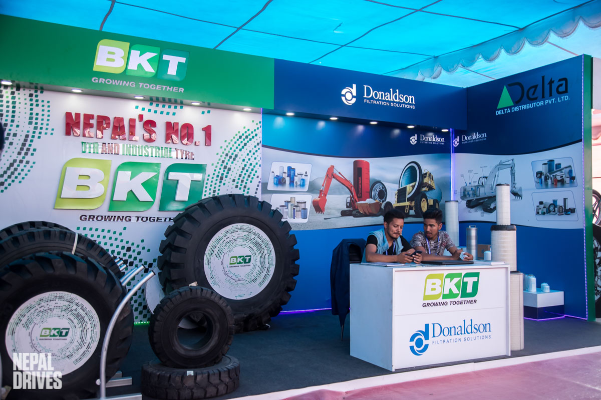 BKT tires Nepal NADA Auto Show Image1