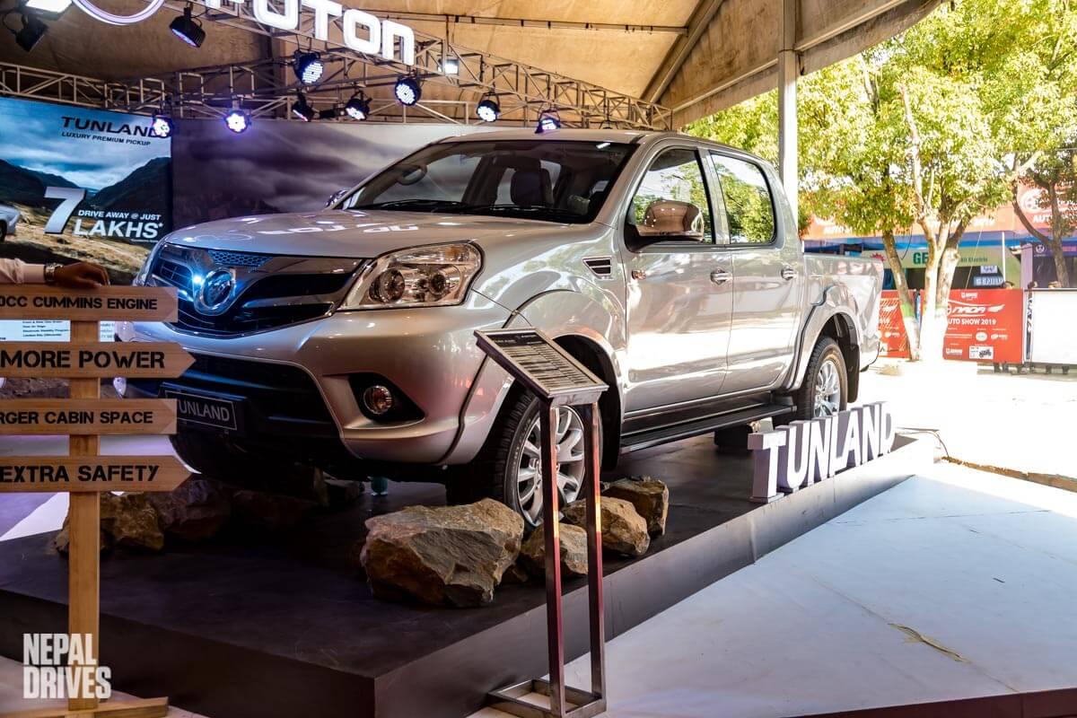 Foton Tunland Nada Auto Show Image2