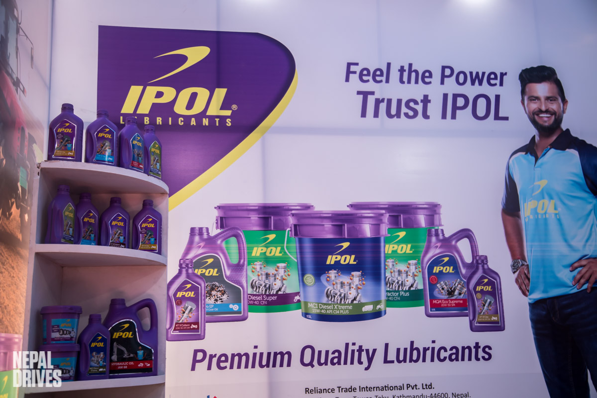 IPOL Lubricants Nada Auto Show Nepal Image1