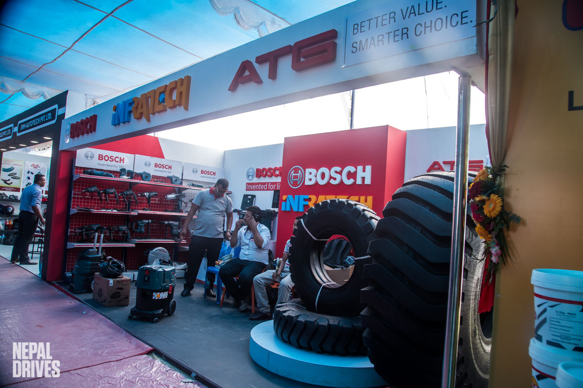 Infratech Bosch ATS NADA Auto Show Image1