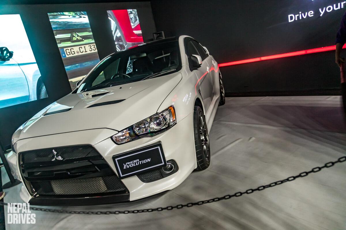 Mitsubishi Lancer Evolution Nada Auto Show Image 1