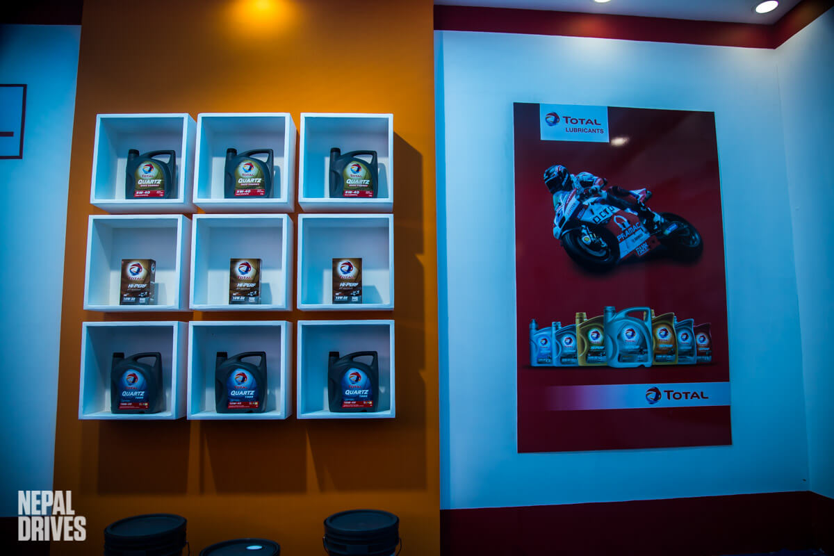 Total Lubricants Nepal Nada Auto Show 2019 Image1