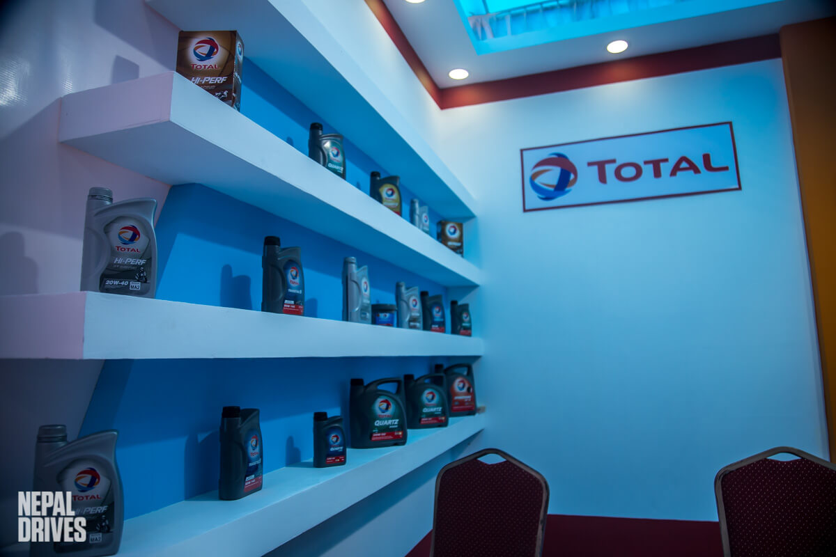 Total Lubricants Nepal Nada Auto Show 2019 Image2