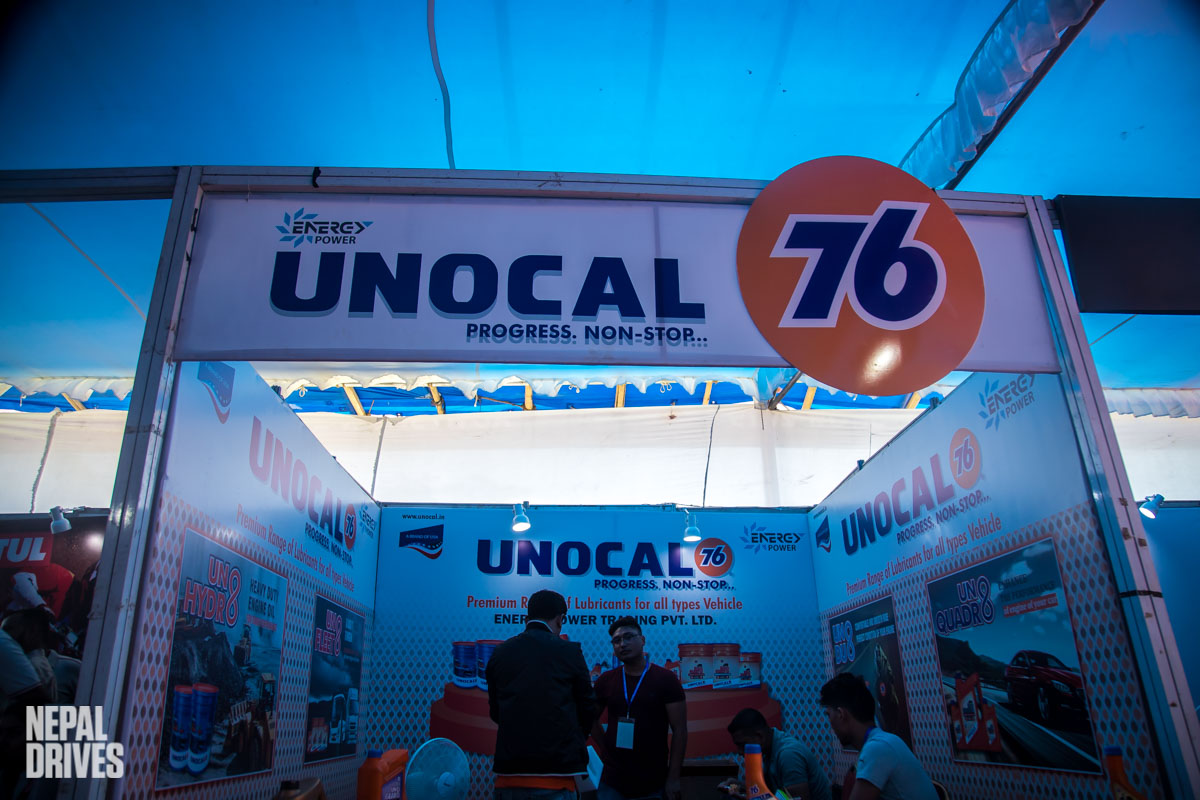Unocal 76 Nada Auto Show 2019 Nepal Image2