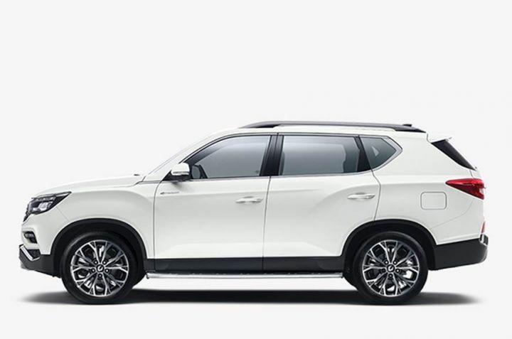 2020 SsangYong Rexton Facelift Image2