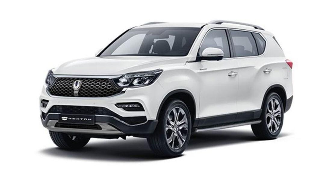 2020 SsangYong Rexton Facelift Main Image