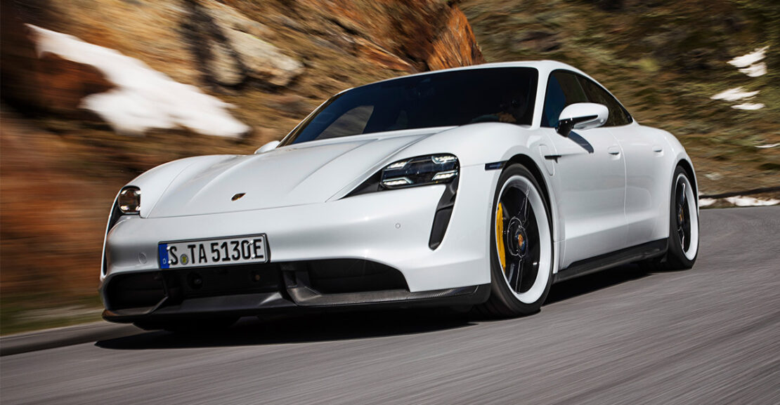 Porsche Taycan Revealed Main Image