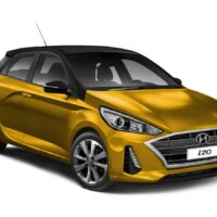 2020 Hyundai i20 Rendered front 1