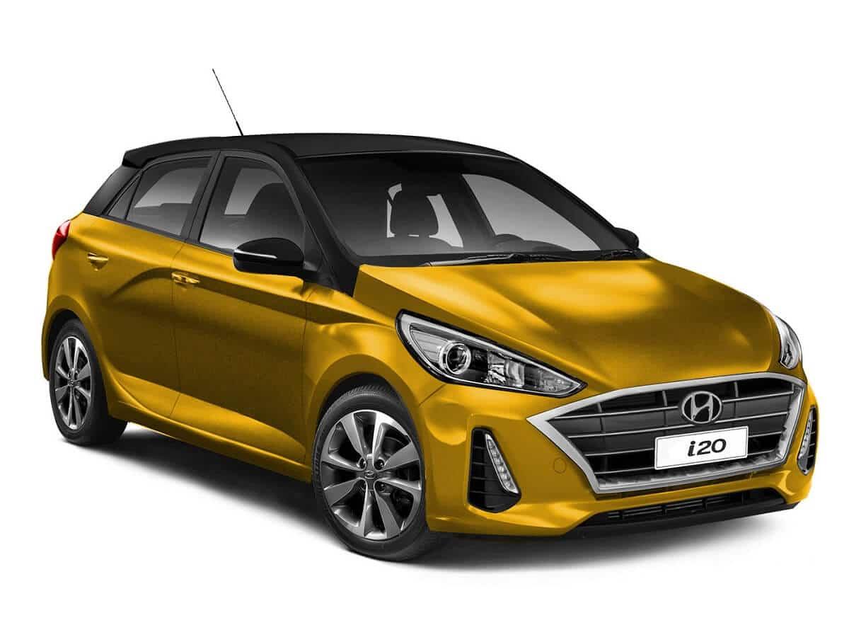 2020 Hyundai i20 Rendered front 1