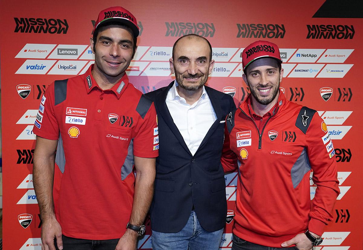 Danilo Petrucci  Claudio Domenicali  Andrea Dovizioso UC143733 High