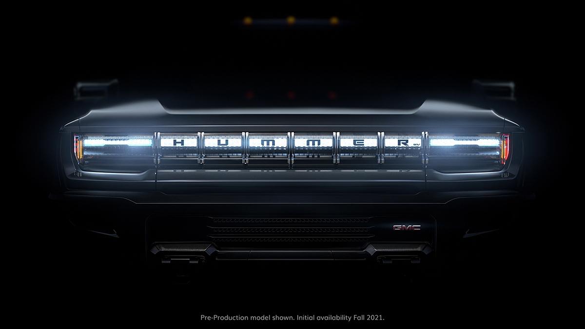 GMC HUMMER EV Quiet Revolution Grille Featured Image