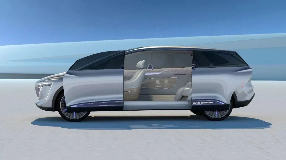 MG Motor India Vision i Auto Expo 2020 India