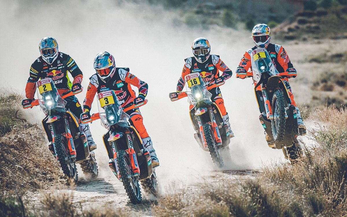 Red Bull KTM Factory Racing Dakar Rally 2019