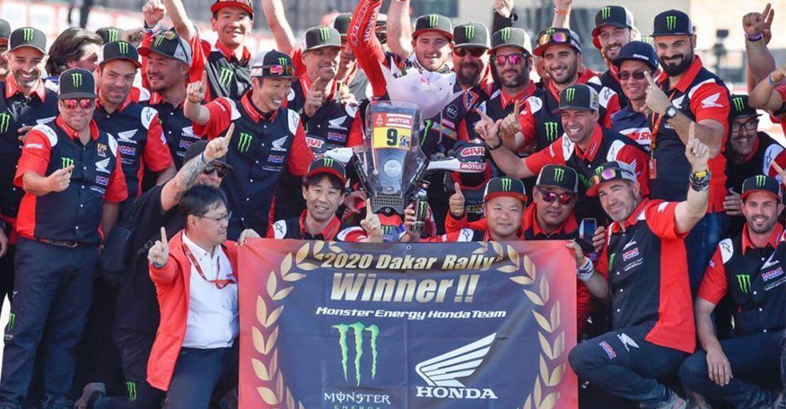 Ricky Brabec Dakar2020 MonsterEnergy Honda Team Featured Image