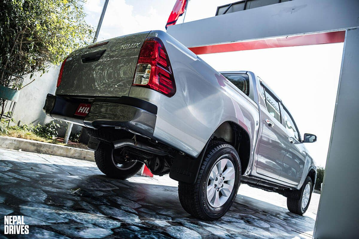 Toyota Hilux 2 4l Edition Launched In Nepal