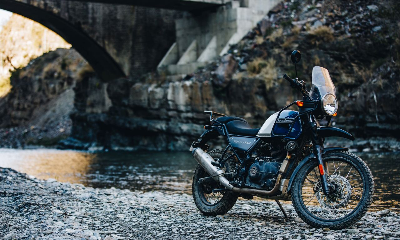 bs vi royal enfield himalayan lake blue outdoor 3 2eb6