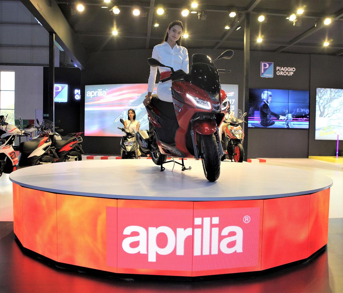 Aprilia SXR 160 Auto Expo 2020 Image2