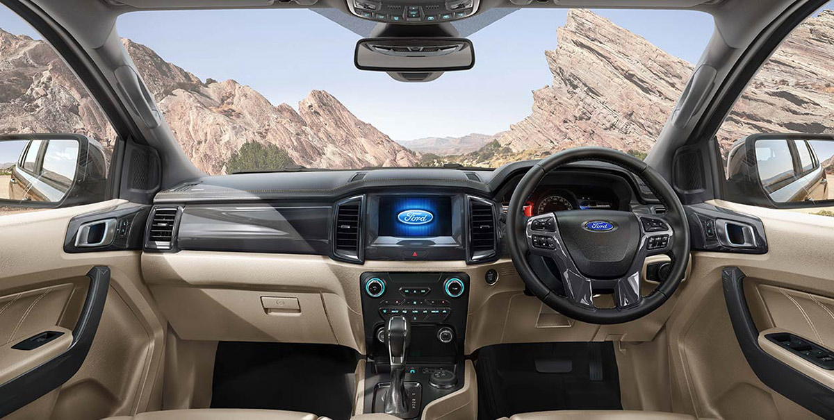 BS VI Ford Endeavour India Image22