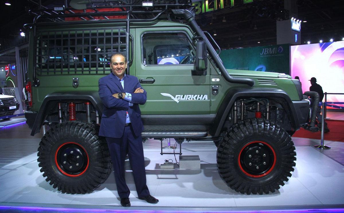 Force Gurkha Customized 1