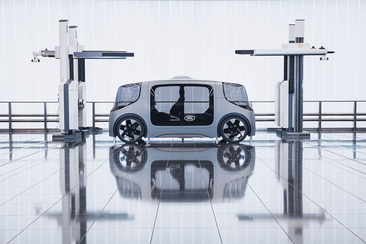 Jaguar Land Rover Project Vector 1