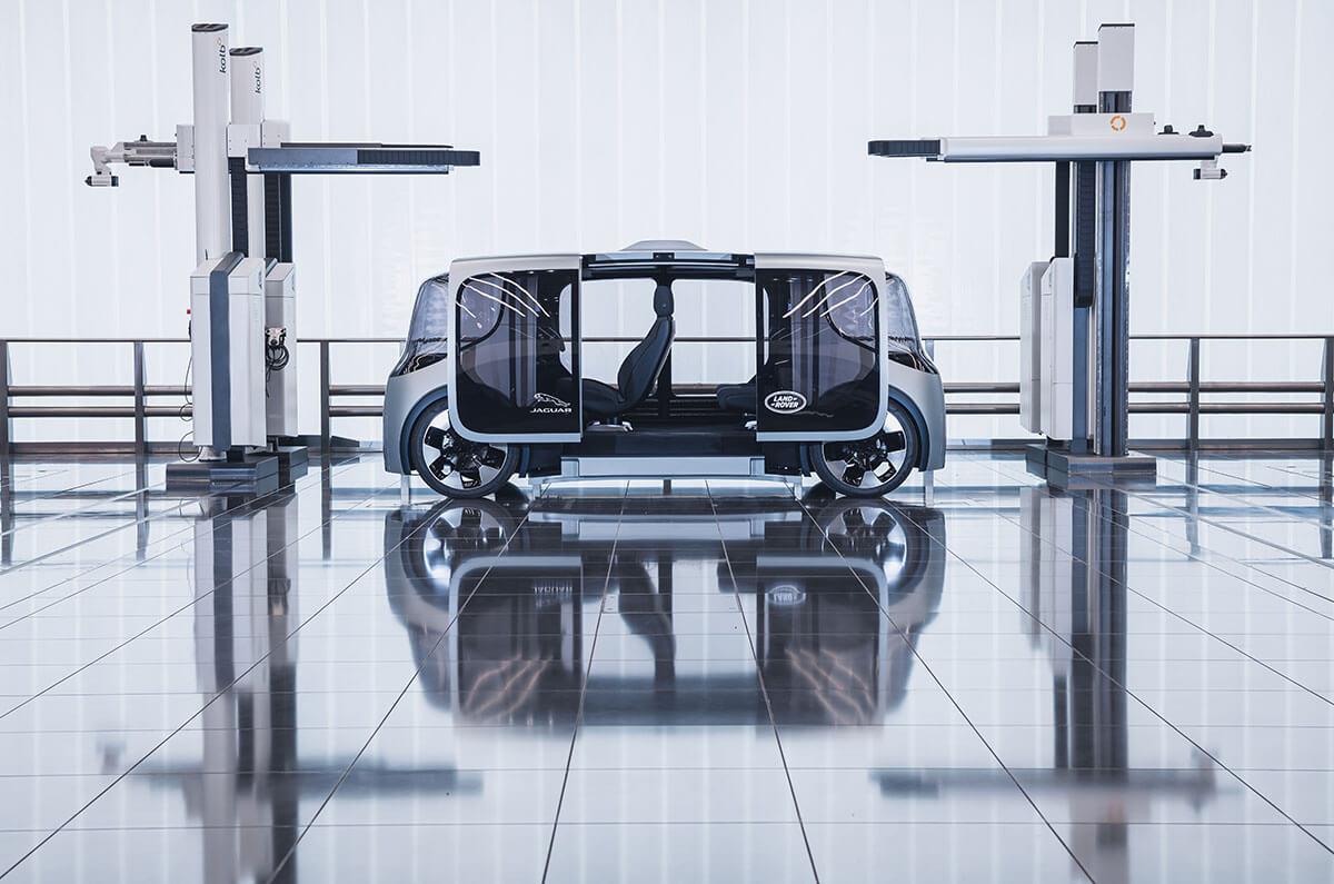 Jaguar Land Rover Project Vector 2