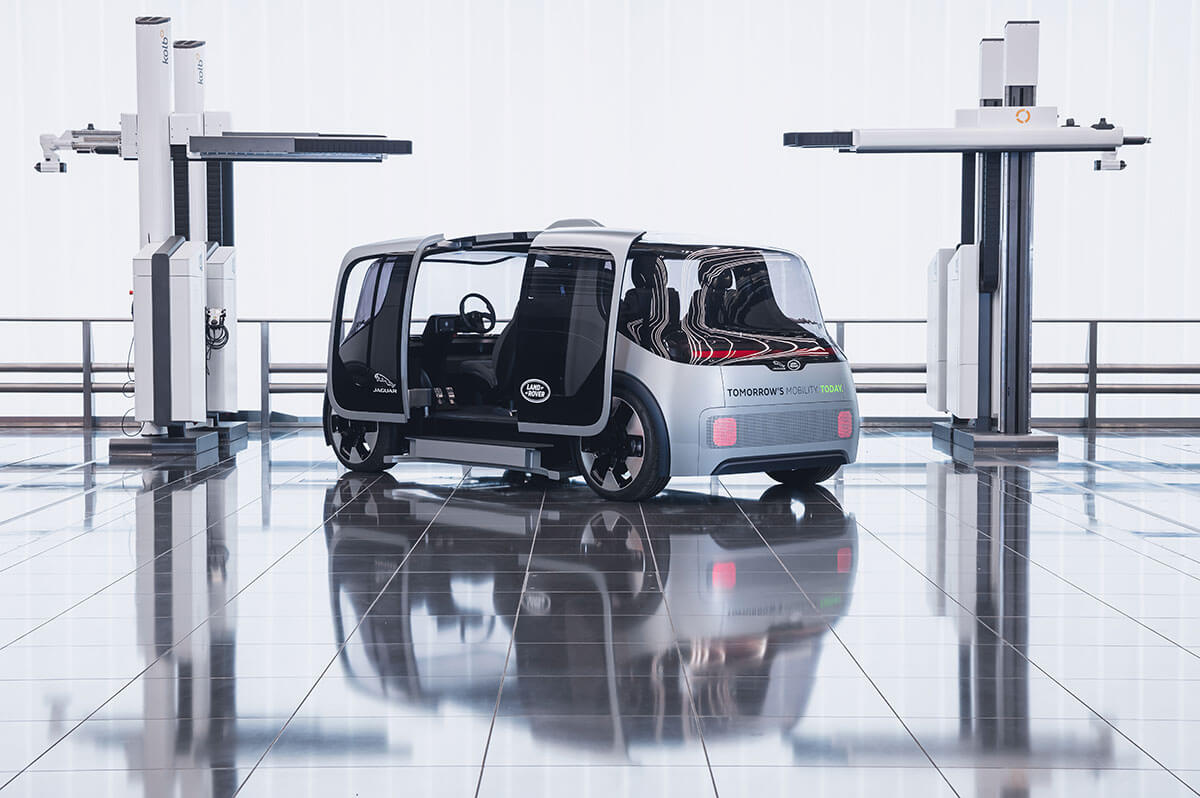 Jaguar Land Rover Project Vector 3