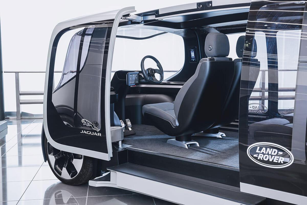 Jaguar Land Rover Project Vector 4