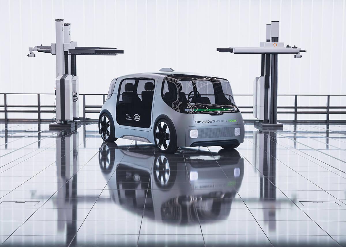 Jaguar Land Rover Project Vector 5