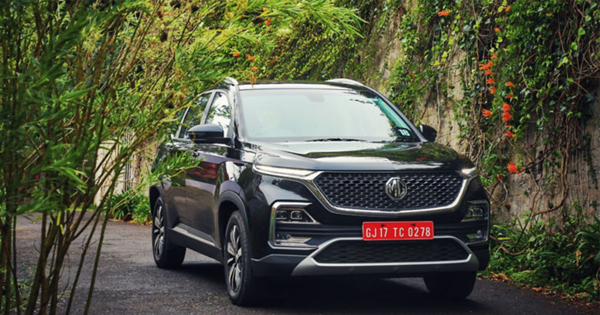 MG Hector 50000 Bookings India Featured Image