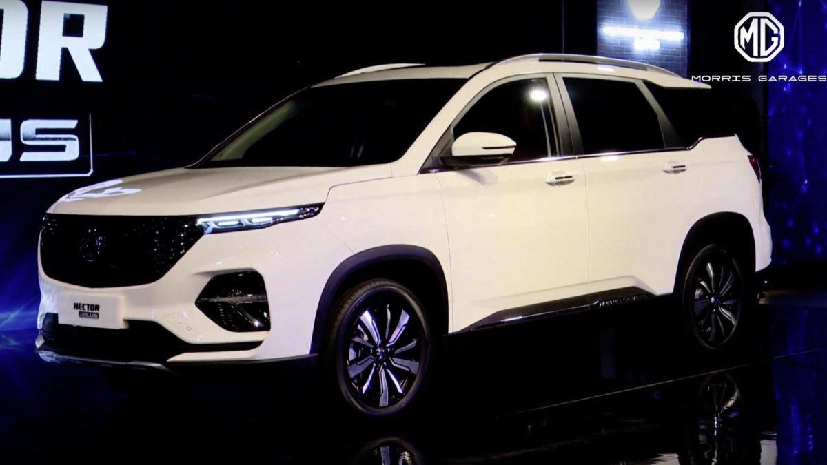 MG Hector Plus Auto Expo 2020 Image1