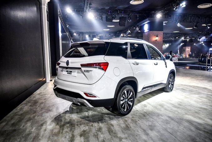 MG Hector Plus Auto Expo 2020 Image2
