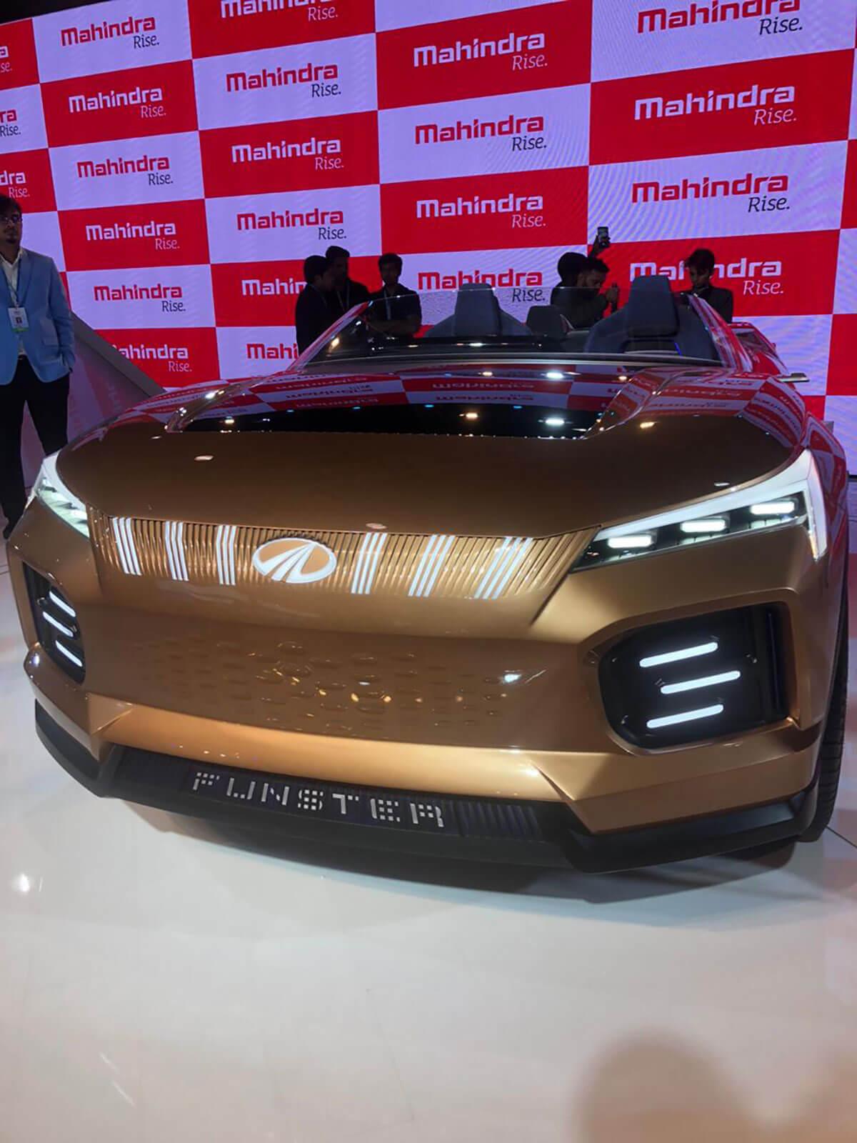 Mahindra Funster Concept Auto Expo 2020 1