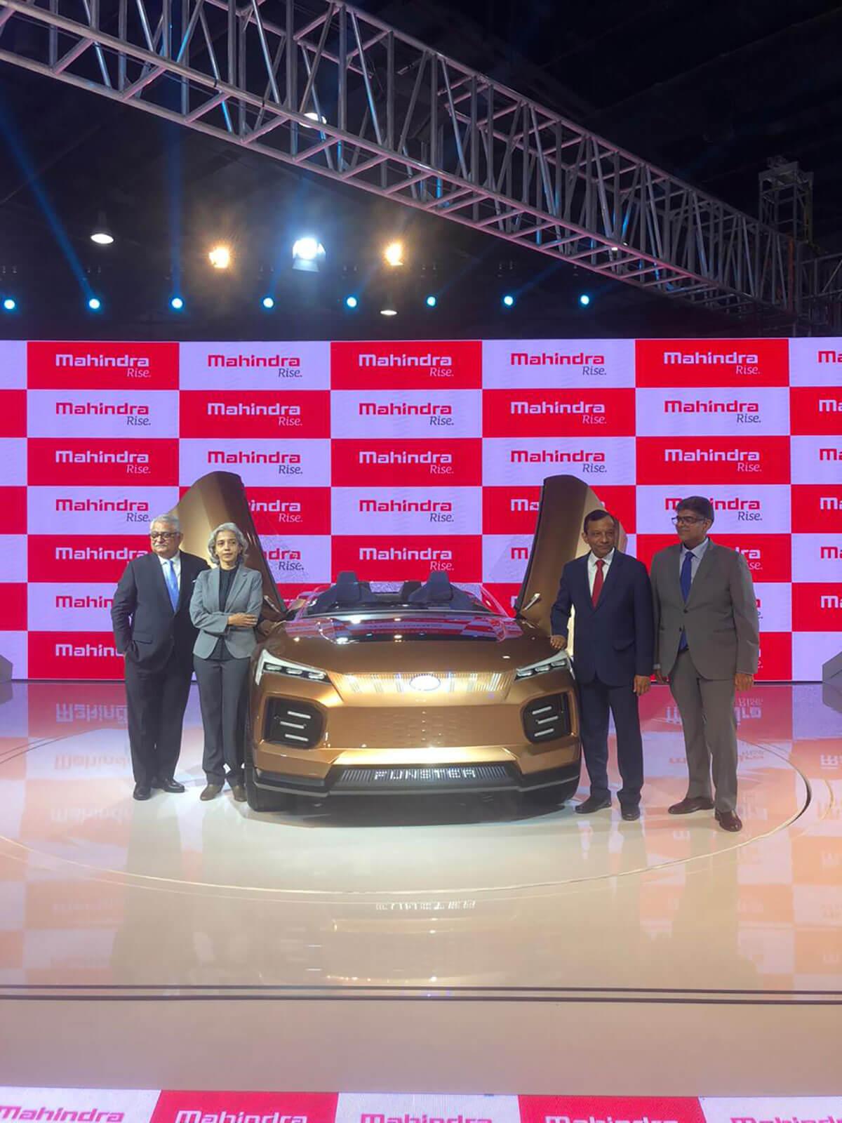 Mahindra Funster Concept Auto Expo 2020 2
