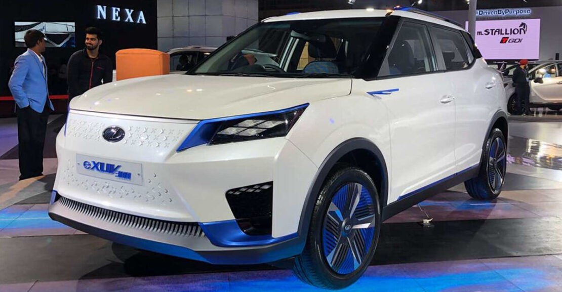 Mahindra eXUV300 Concept featured image