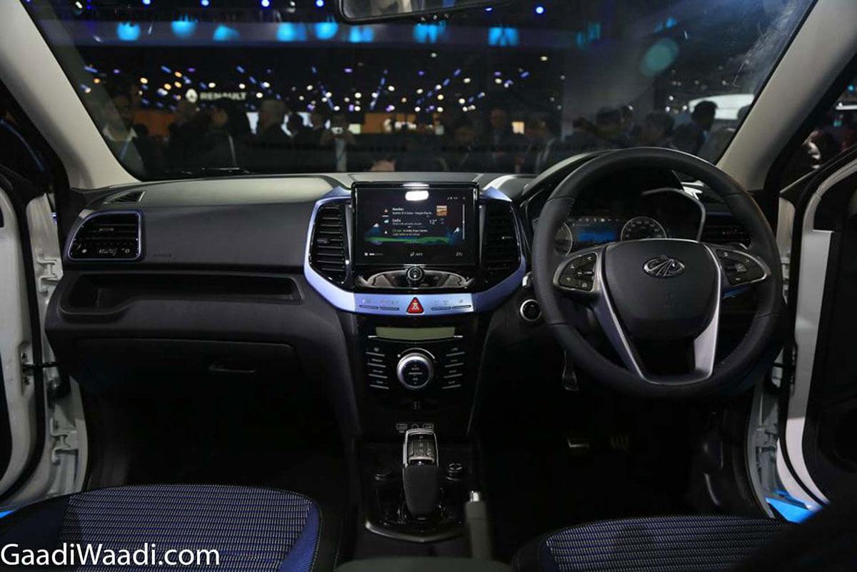 Mahindra eXUV300 Interior