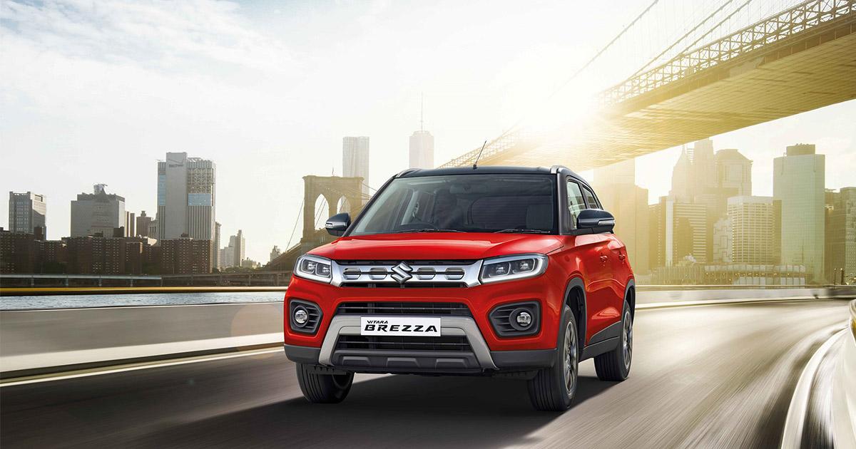 New Suzuki Vitara Brezza Petrol Automatic Featured Image