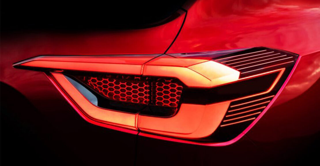 Nissan sub4m compact SUV India Tail lamp Featured Image