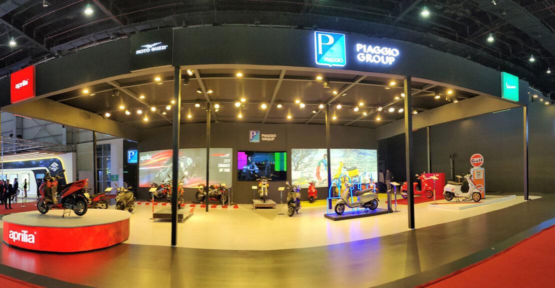Piaggio Vespa Aprilia MotoGuzzi Auto Expo 2020 Featured Image