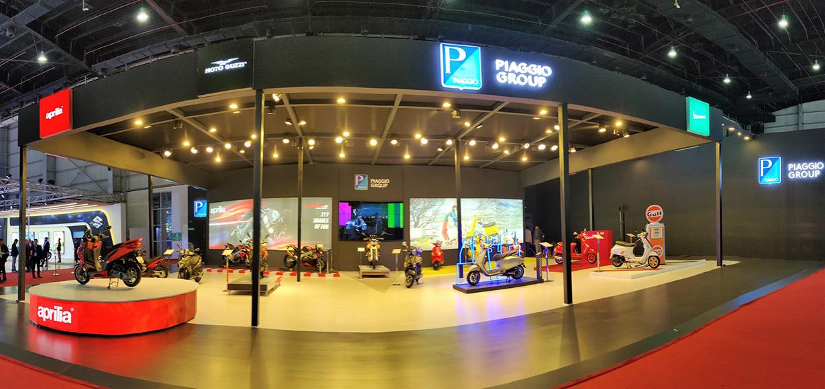 Piaggio Vespa Aprilia MotoGuzzi Auto Expo 2020 Image1
