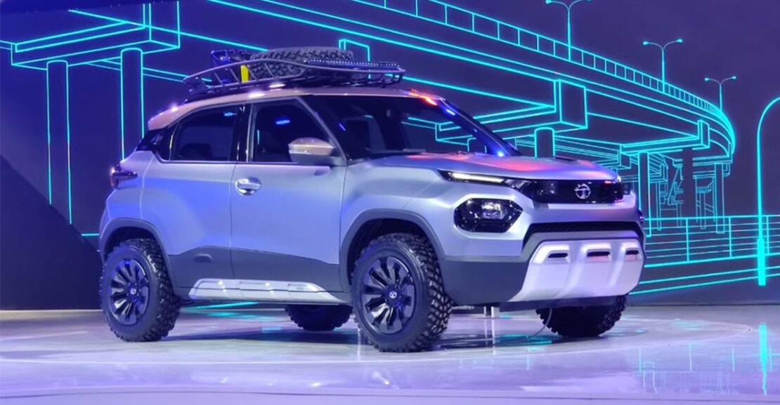 Tata Motors HBX concept auto expo 2020 featured image