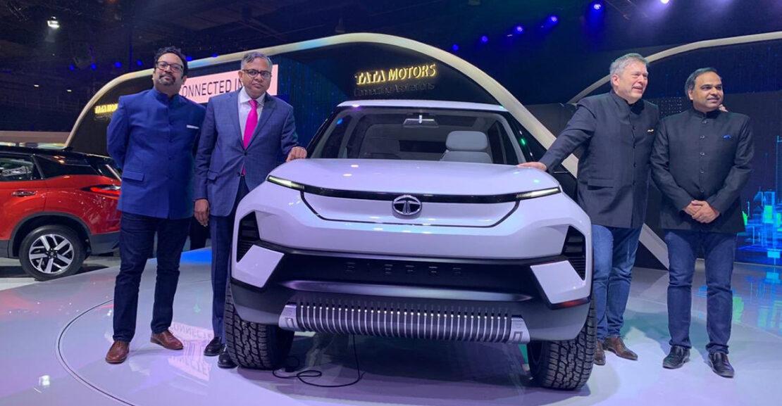 Tata Motors Sierra EV concept auto expo 2020 featured image
