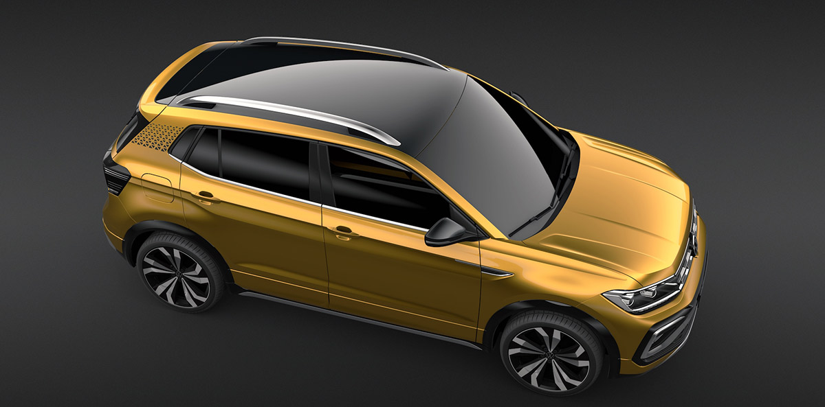 Volkswagen Taigun Auto Expo 2020 Revealed Image