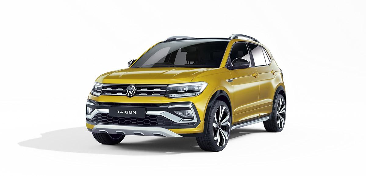 Volkswagen Taigun Auto Expo 2020 Revealed Image2