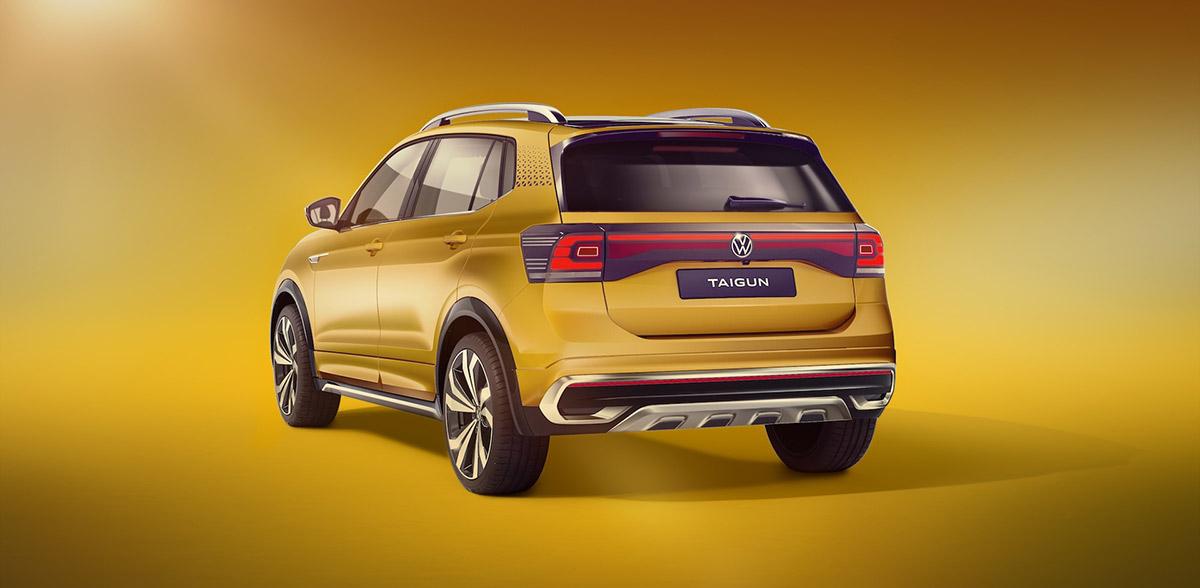 Volkswagen Taigun Auto Expo 2020 Revealed Image4
