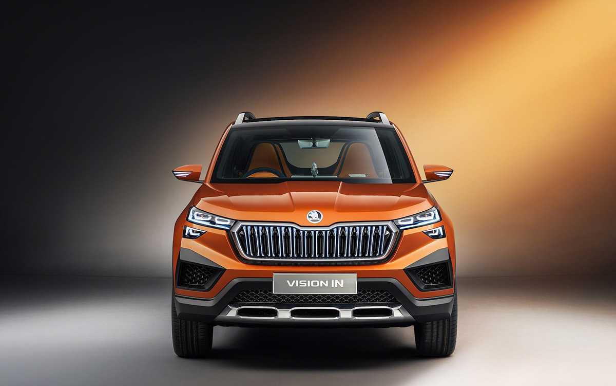 skoda vision in auto expo 2020 revealed image1