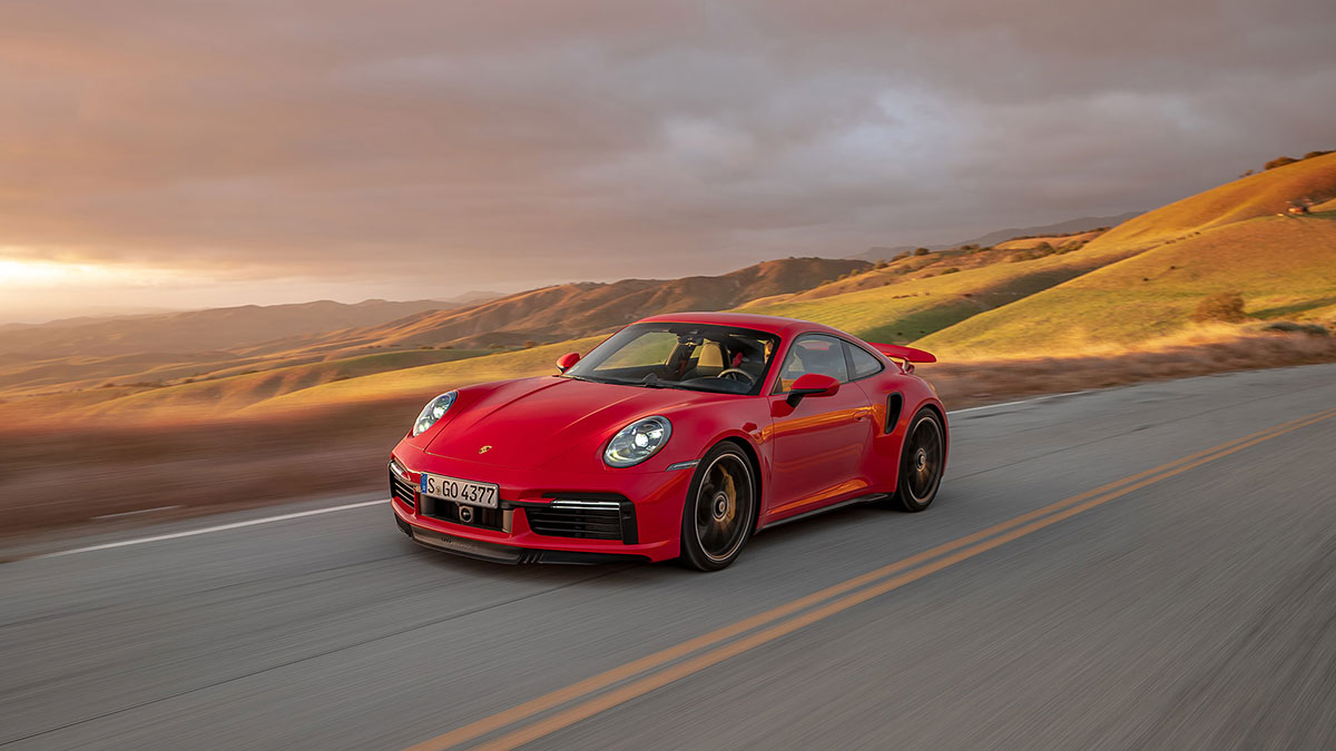 2020 Porsche 911 Turbo S V14 1080