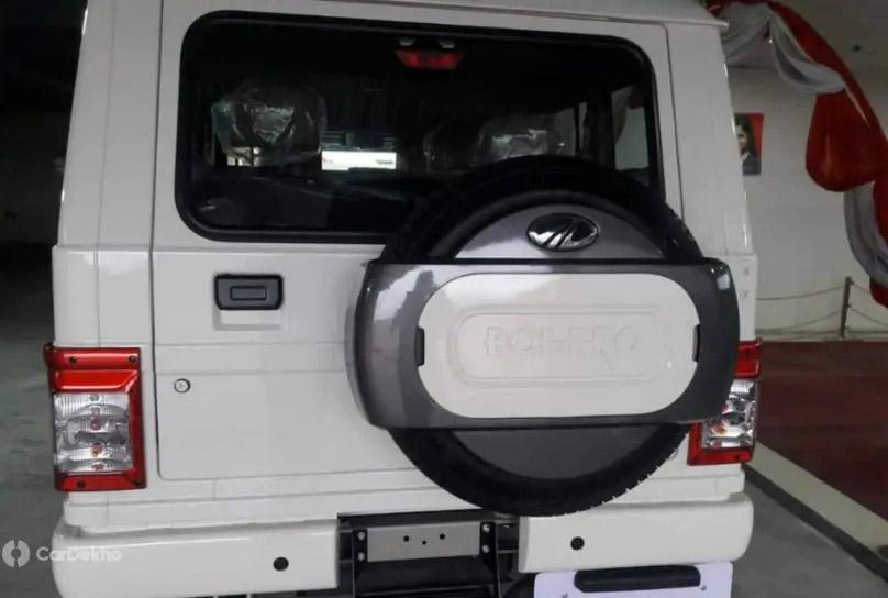 2020 mahindra bolero power facelift Rear Image